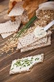 Wholemeal crispbread — Fotografia Stock