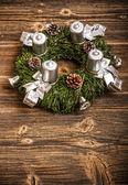 Advent wreath — Стоковое фото