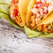 Tacos with chicken — Stock Photo #17152859