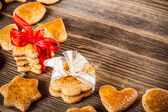Homemade ginger cookies — Stock Photo