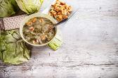 Salad soup — Fotografia Stock