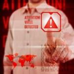 Virus alert — Stock Photo #18339843
