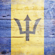 Flag of Barbados - Stock Photo