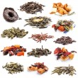 Tea leaves collection — Foto Stock