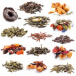 Tea leaves collection — Lizenzfreies Foto