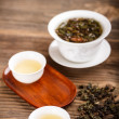 white gaiwan — Stock Photo