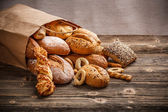Baked goods — Stockfoto