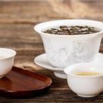 Chinese lidded bowl — Stock Photo #18420337
