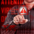 Virus alert — Stock Photo #18420495