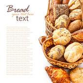 Brot und brötchen — Stockfoto