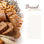 Gesneden brood — Stockfoto