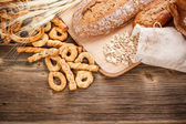Tasty rye breads — Stock Photo