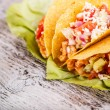 Stock Photo: Chicken tacos