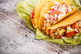 Chicken tacos — Stockfoto