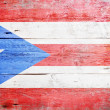 Flags of Puerto Rico - Stock Photo