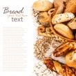 Different kinds of fresh bread — Stock Photo #18679553