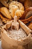 Wheat flour — Stock Photo
