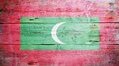 Flag of the Maldives — Stock Photo