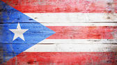 Flags of Puerto Rico — Stock Photo