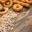 Dry pretzel — Stock Photo