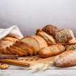 Collection of baked bread — Stock Photo #18891481
