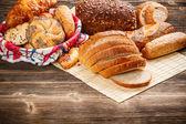 Verscheidenheid van brood — Stockfoto