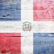 Flag of the Dominican Republic — Stock Photo