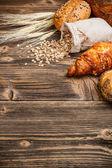Verse croissants — Stockfoto