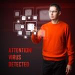 Virus detected — Stock Photo #19066983