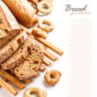 Fresh rye sliced bread — Stock Photo