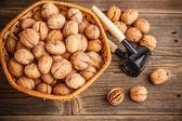 Walnuts fruit — Stock Photo