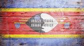 Flag of Swaziland — Stock Photo