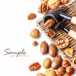 Assortment of nuts — Stock Photo #19166745