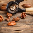 Pecan nuts — Stock Photo