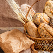Composition of bread — Stock Photo