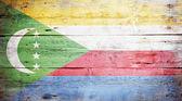 Flag of Comoros — Stock Photo