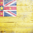 Flag of Niue — Stock Photo #19378555