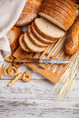 Gesneden brood — Stockfoto