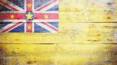 Flag of Niue — Stock Photo