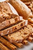 Bread slices — Foto Stock