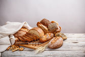 Mix of bread — Stock Photo