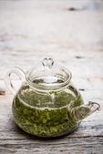 Szklany czajniczek — Zdjęcie stockowe