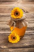 Tarro de miel — Foto de Stock