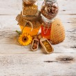 Forms of honey — Stock Photo