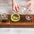 Chinese tea ceremony — Foto Stock