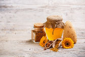 Apiary products — Stock Photo