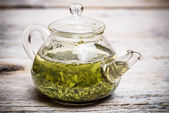 Green tea — Stockfoto