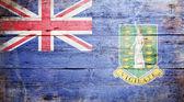 Flag of the British Virgin Islands — Stock Photo