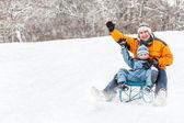 冬季时间 — 图库照片