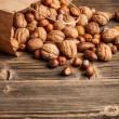 Various nuts mix - Stock Photo